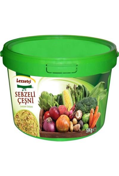 Lezzetçi Sebzeli Çeşni 5 kg