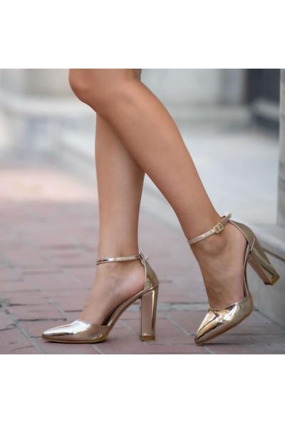 Mio Gusto Cecille Altın Abiye Ayakkabı
