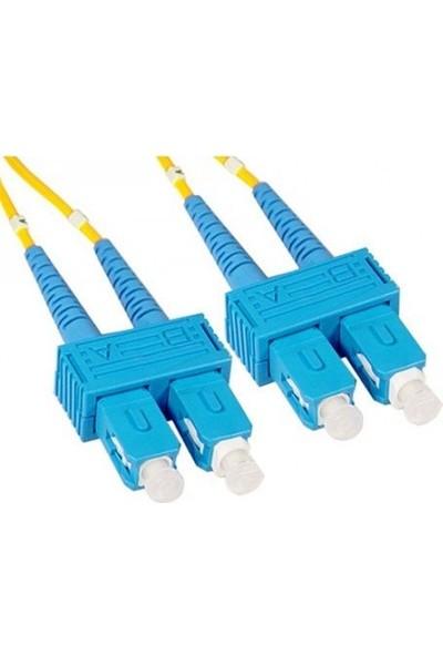 Fotesk F/o Sm Sc-Sc Fiber Optik Kablo 10 mt