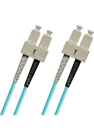 Fotesk F/o Om3 Sc-Sc Fiber Optik Kablo 2 mt