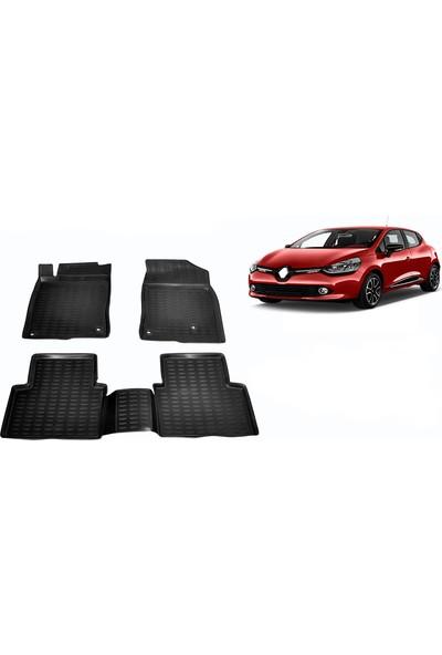 Chn Global Renault Clıo 4 3D Havuzlu Oto Paspas Araca Özel