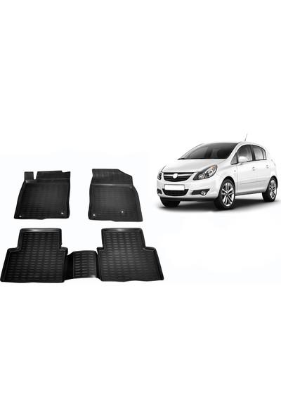 Chn Global Opel Corsa D 3D Havuzlu Oto Paspas Araca Özel (2007-2014)
