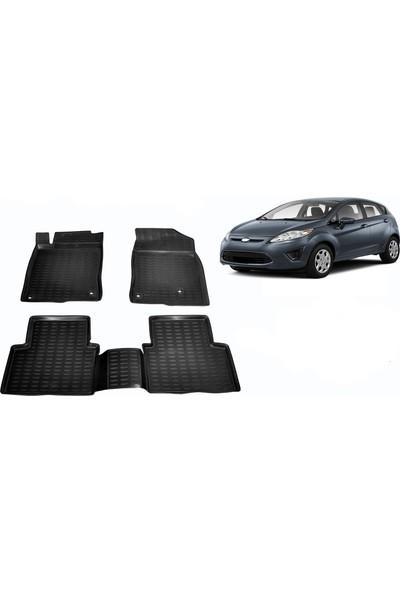 Chn Global Ford Fiesta 3D Havuzlu Oto Paspas Araca Özel (2013 Sonrasi)
