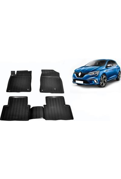 Chn Global Renault Megane 4 3D Havuzlu Oto Paspas Araca Özel