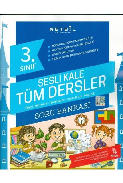Netbil Yayınları 3. Sınıf Sesli Kale Tüm Dersler Soru Bankası