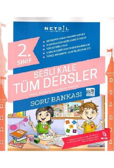 Netbil Yayınları 2. Sınıf Sesli Kale Tüm Dersler Soru Bankası