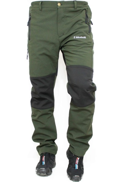Mudwill Softshell Kışlık Erkek Pantolon-Haki