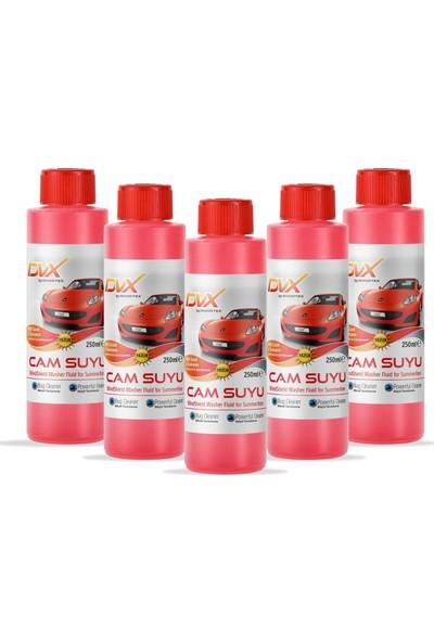 Divortex Şampuanlı Ve Parfümlü Yazlık Cam Suyu 5 Adet X 250 Ml.