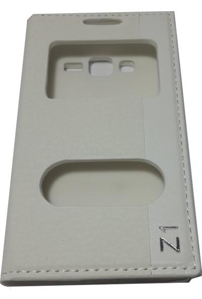 Ahi ZTE Nubia Z11 Telefon Kılıfı - Beyaz