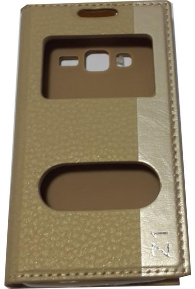 Ahi ZTE Nubia Z11 Telefon Kılıfı - Gold