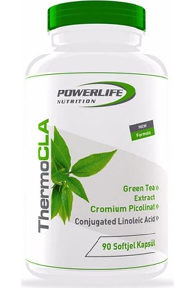 Powerlife Nutrition Thermo CLA 90 Kapsül Termojenik