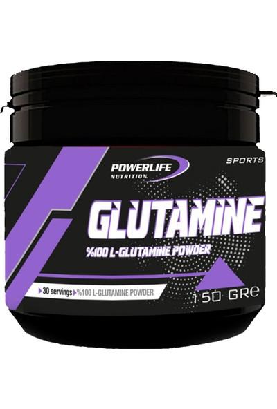 Powerlife Nutrition L-Glutamine 150 gr Aromasız Glutamin Powder