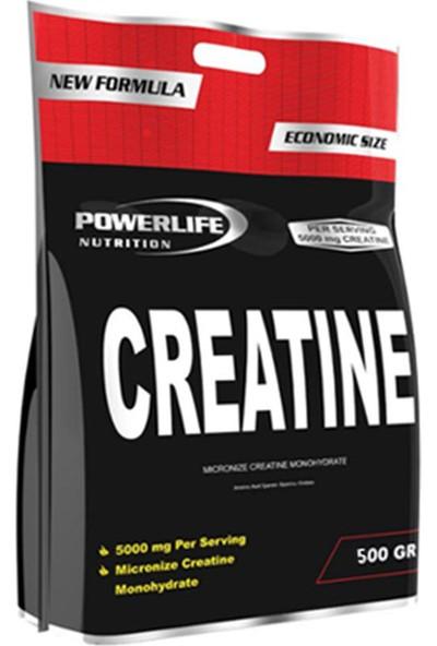 Powerlife Micronize Creatine Monohydrate 500 gr Aromasız Kreatin Powder
