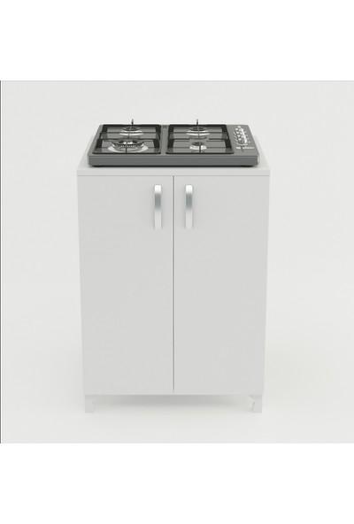 Kenzlife ocak dolabı ayda byz 85*60*57 mutfak modül mini fırın mikrodalga banyo ofis