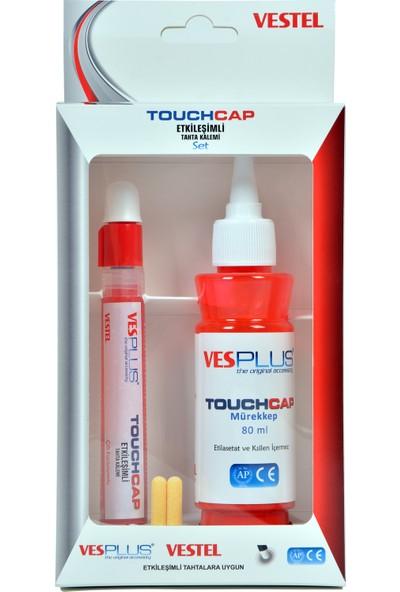 Vestel Vesplus Touchcap Etkileşimli Tahta KalemiKırmızı Set