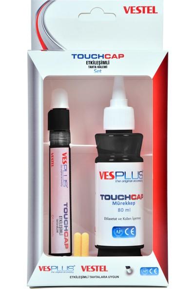 Vestel Vesplus Touchcap Etkileşimli Tahta KalemiSiyah Set