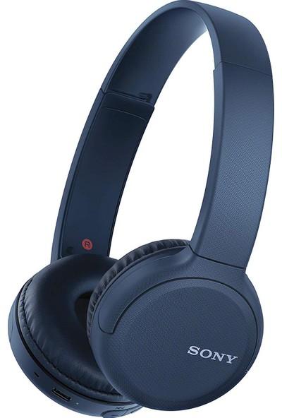 Sony WH-CH510 Bluetooh Kulak Üstü Kulaklık - Mavi