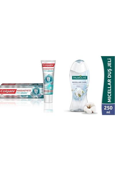 Palmolive Micellar Care Duş Jeli 250 ml + Colgate Pro Çözüm Diş Macunu 75 ml