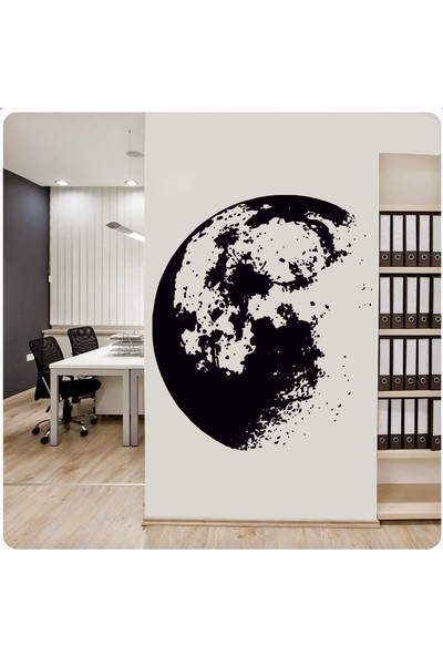 Freya Angel - Ay Manzarası Duvar Sticker