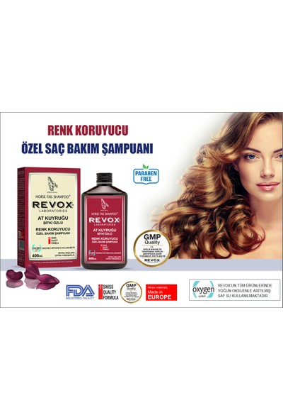 Revox At Kuyruğu Bitki Özlü Renk Koruyucu Şampuan /400ML