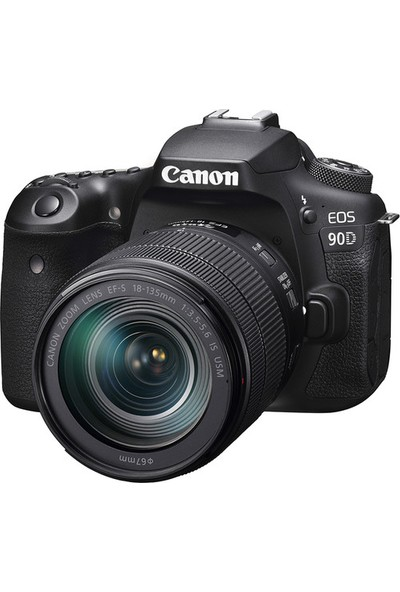 Canon Eos 90D 18-135 mm Is Usm Kit (Canon Eurasia Garantili)