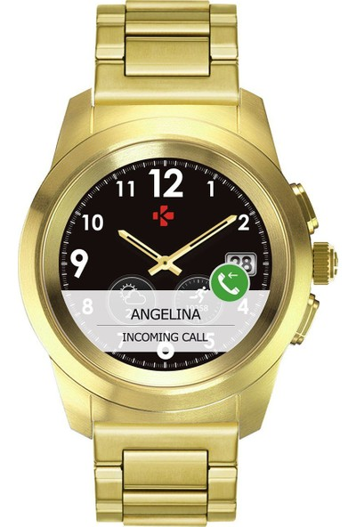 MyKronoz ZeTime Elite Hybrid Smartwatch Altın