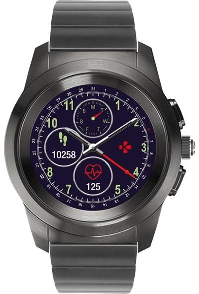 MyKronoz ZeTime Regular Elite Hybrid Smartwatch Siyah