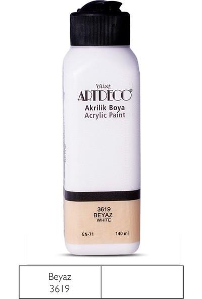 Artdeco Akrilik Boya 140 Ml Beyaz Y-070Y-3619