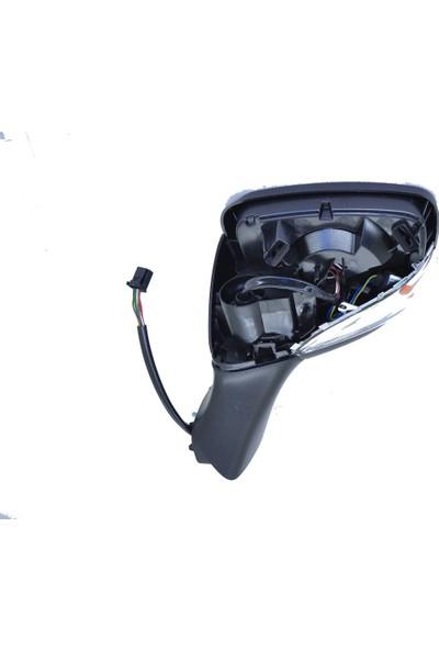 Gva Marka Dış Dikiz Ayna Sol Clio Iv (Elektirikli-Sensörlü)