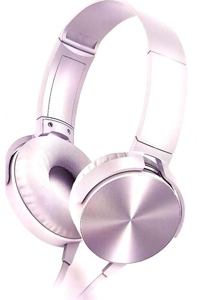 Maiz MDR-XB450AP Extra Bass Mikrofonlu Kulaklık Beyaz