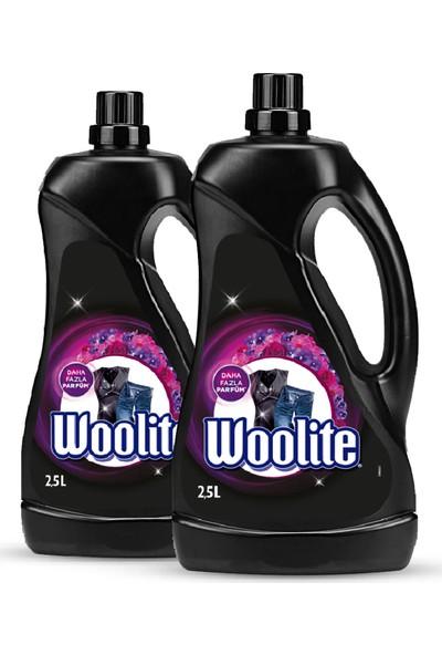 Woolite Sıvı Çamaşır Deterjanı Koyu Renkler 2500 ml x 2 Adet