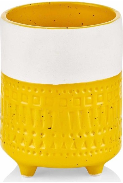 The Mia Vazo - 12 cm Sarı