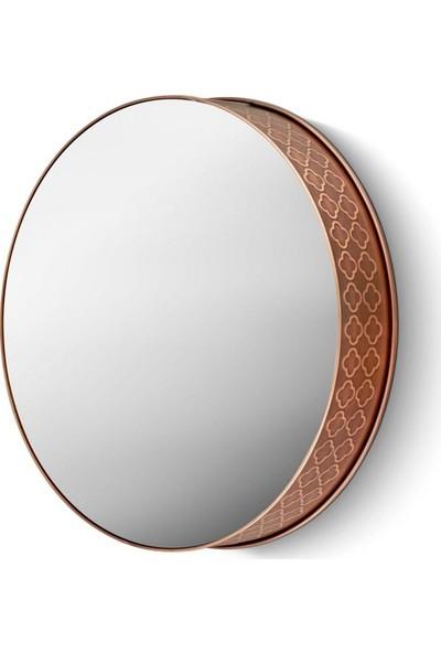 The Mia Ayna 34 Cm - Bakır Kaplama