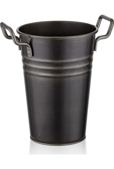 The Mia Vazo 30 Cm - Siyah