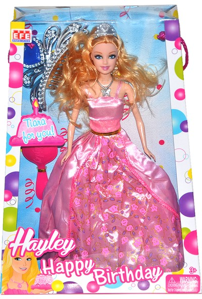 Efe Oyuncak Haylley Happy Birthday Model Bebek
