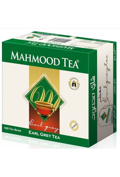 Mahmood Tea Earl Grey Tea Bags 2 gr 100 'lü