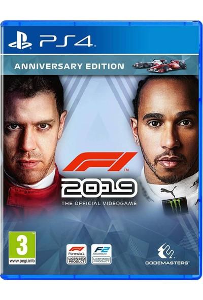 F1 2019 Anniversary Edition PS4 Formula 1 Oyun