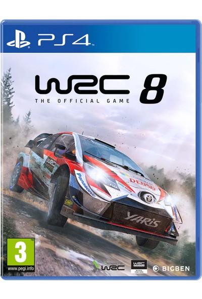 WRC 8 PS4 Oyun