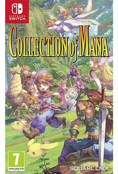 Collection Of Mana Nintendo Switch Oyun