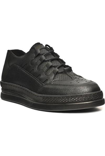 Conteyner 728 Siyah Spor Ayakkabı