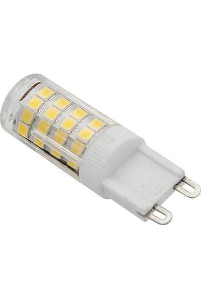 K2 G9 LED 220V 5W 300 Lümen Beyaz 6500 Kelvin