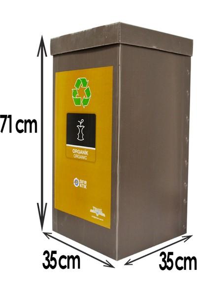 Temel Geri Dönüşüm Kutusu Sıfır Atık Kutusu Organik Atık