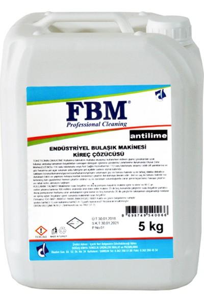 Fbm Endüstriyel Bulaşık Makinası Kireç Çözücüsü Antilime 5 Lt