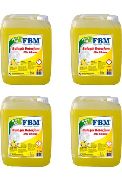 Fbm Limonlu Bulaşık Deterjanı 5 kg x 4 Adet