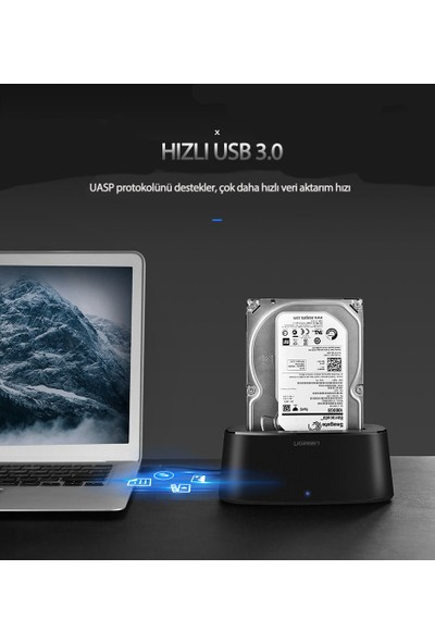 Ugreen USB 3.0 SATA HDD Dock Station