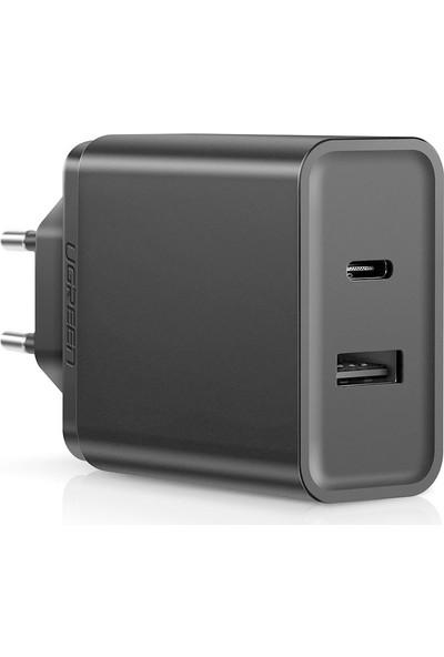 Ugreen 30W Type-C PD ve USB Şarj Cihazı