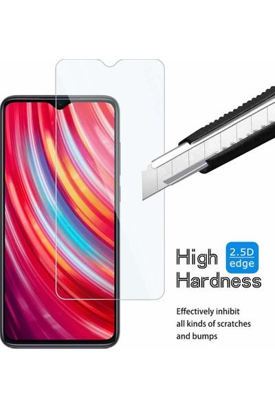 Case 4U Xiaomi Redmi Note 8 Pro Cam Ekran Koruyucu Temperli Şeffaf