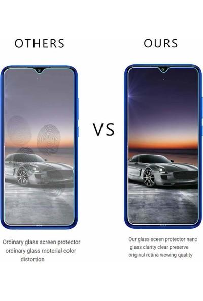 Case 4U Xiaomi Redmi Note 8 Cam Ekran Koruyucu Nano Şeffaf