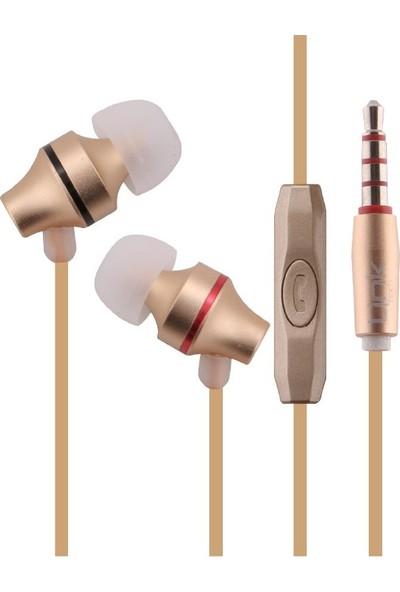 Linktech H20 Mikrofonlu Kulak İçi Kulaklık