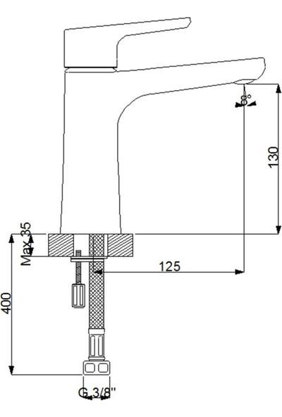 Newarc Newart Lavabo Bataryası